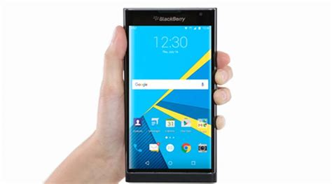 blackberry priv gets android marshmallow update here are