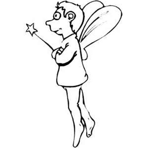 coloring pages of boy fairies fairy boy with magic wand coloring page