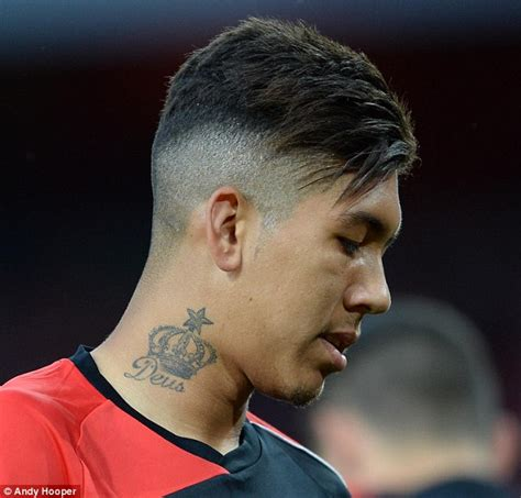 liverpool fc forward roberto firmino proves love hurts