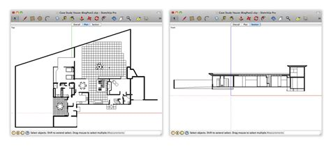 section cut retired sketchup blog getting better sectional views in