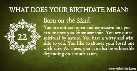 january 22 birth date meaning what does your birth date mean born on the 22nd