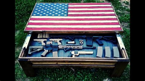 coffee table gun cabinet coffee table gun cabinet