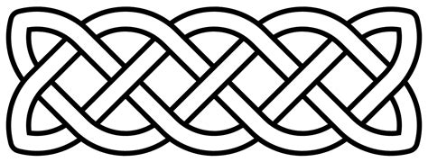 Celtic Pattern Png | file celtic knot basic linear svg wikimedia commons