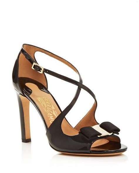 Cross High Heel Sandals salvatore ferragamo gabrielle criss cross high heel