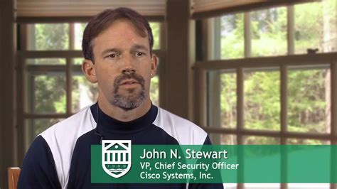 Tuck Mba Visit by Stewart Vp Chief Security Officer Cisco Systems
