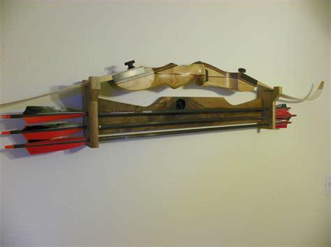 Bow Rack by Walnut Recurve Bow Rack