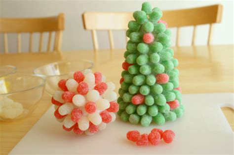 Decorate Home Games decorate with festive gumdrop trees make and takes