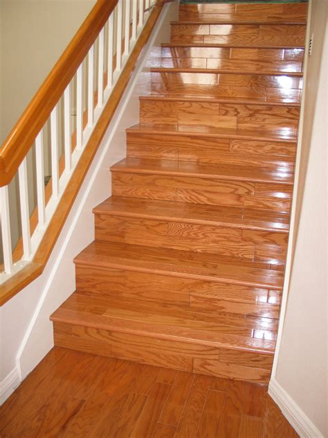 Hardwood Flooring On Stairs Laminate Flooring Laminate Flooring Molding Stairs