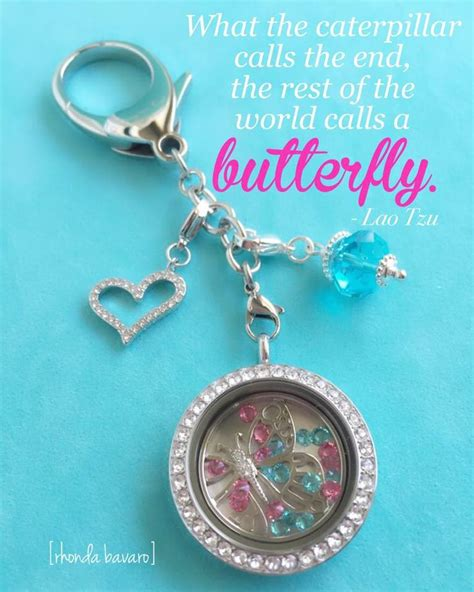 Origami Owl Keychain - keychains from origami owl what a way to carry