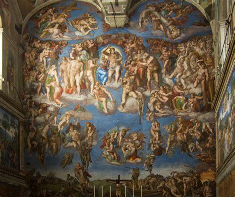 sixtinische kapelle decke rom die ewige stadt