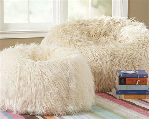 Design Ideas For Fuzzy Bean Bag Chair Fur Bean Bag Bean Bag Chair Bean Bag Chairs Ikea Interior Designs Ideasonthemove