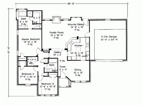 1800 Square Foot Floor Plans by 1800 Square Foot House Plans 1800 Square Feet 3 Bedrooms 2