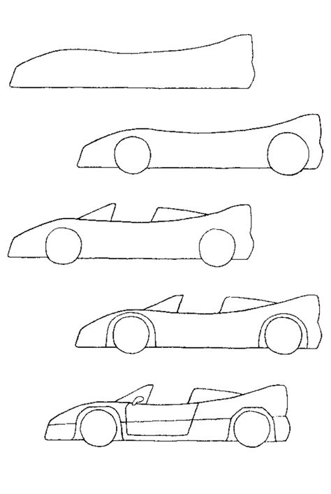 how to draw a car drawing fast race sports cars step by step draw cars like buggati aston martin more for beginners books 25 best ideas about how to draw cars on car
