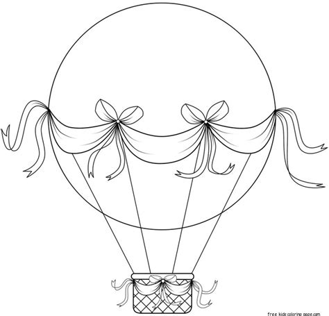 printable coloring pages air balloons printable air balloon coloring sheetsfree printable