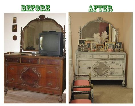 old furniture makeovers the daily uptown country december 2010