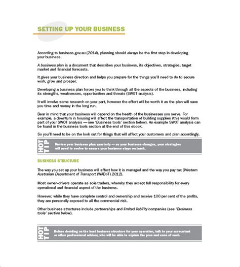 business plan template for logistics company trucking plan business template 10 free word excel