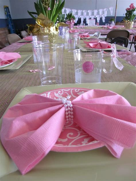 baby shower table setting baby shower table setting baby brunch for a girl pinterest