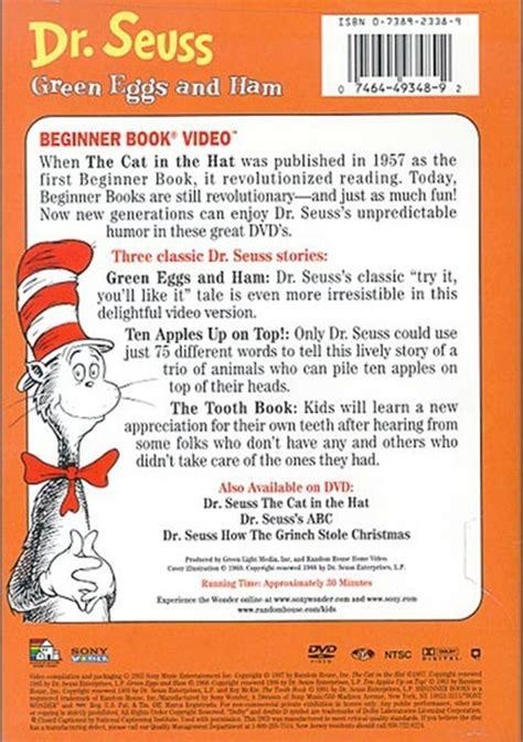 the black pearl book report dr seuss green eggs ham dvd 1960 dvd empire