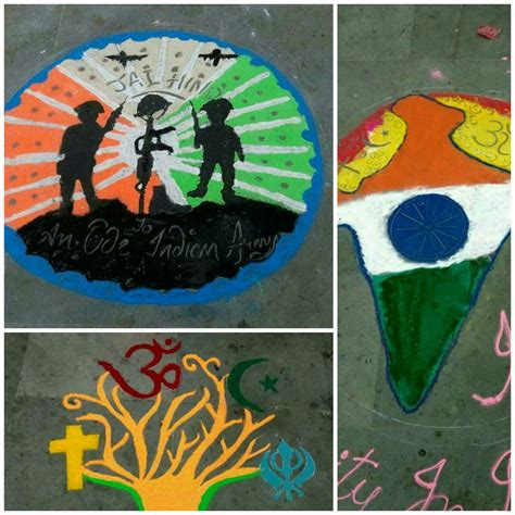 rangoli themes on social issues nss hrc events