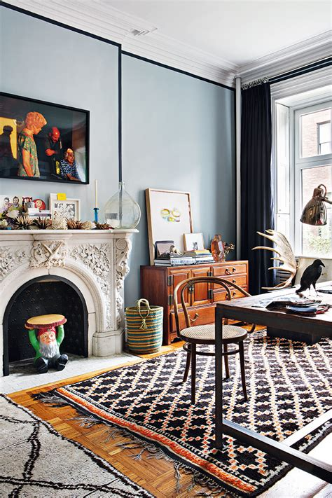 home interior design rugs decordemon bohemian apartment in new york