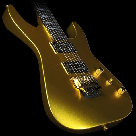 jackson custom shop dk1 dinky electric guitar gold