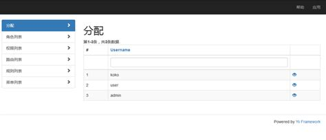 yii2 pagination tutorial yii2 admin 插件使用简要教程 教程 yii framework 中文网