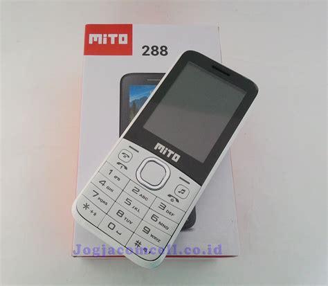 jual handphone mito 288 harga murah garansi 1 tahun jogjacomcell toko gadget