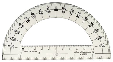 Printable 6 Inch Protractor | protractor 180 6 inch od university of dayton bookstore
