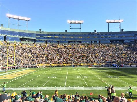 section 126 lambeau field section 126 lambeau field 28 images green bay packers