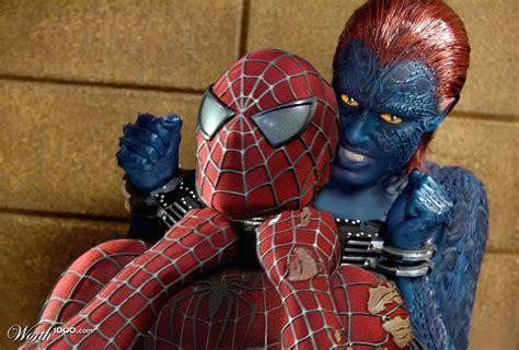 imagenes chistosas de xmen mystique vs spider man battles comic vine