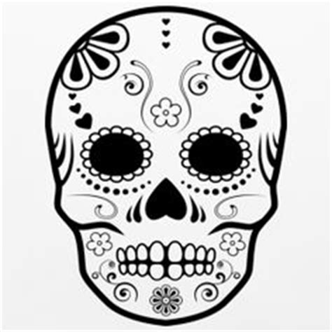 Sugar Skull Design Template sugar skull cookie sugar skull asyrum design