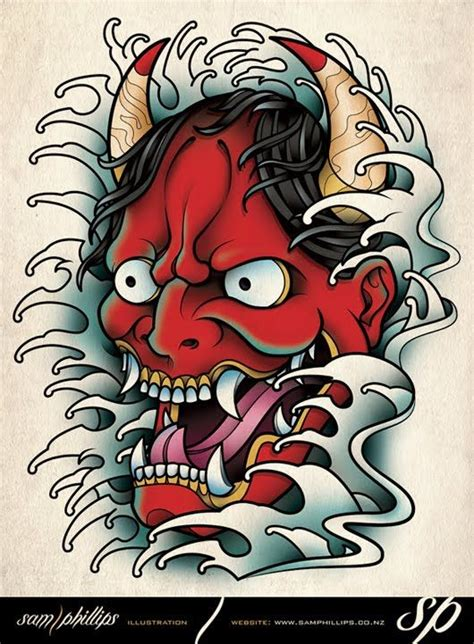 hannya mask tattoo miami ink 39 best hannya mask tattoos images on pinterest hannya