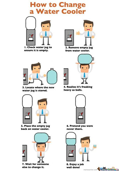 How To Edit Meme Pictures - change a water cooler by siapakah meme center