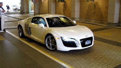 white audi r8 white audi r8 hd youtube