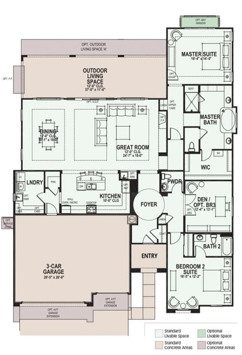 rialta floor plan luxury retirement communities for active adults and 55