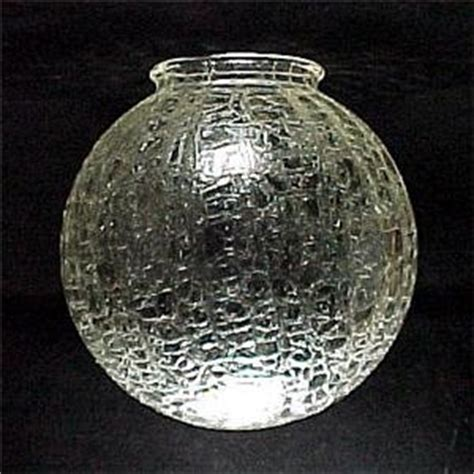 crackle glass l globe clear crackle glass 4 x 8 ball light globe l shade ebay