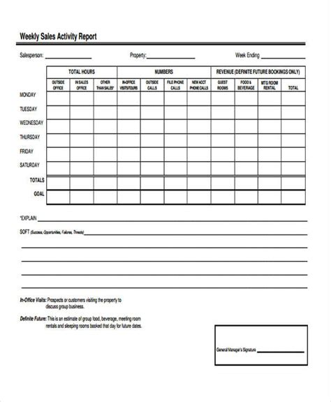 sle report form 24 sales report forms in pdf