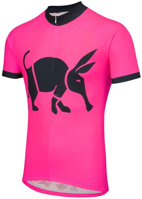 Jersey Pink oska fluro pink road cycling jersey womens foska