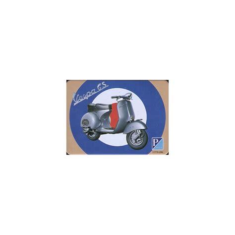 Plaque De Tole 1957 by Magnet T 244 Le Plat Dimension 6x8cm Vespa Gs