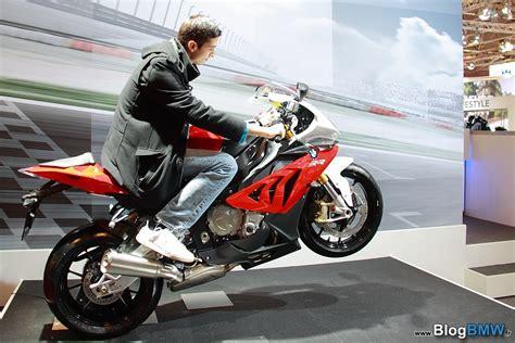 salon de la moto visite sur le stand bmw sur bmw