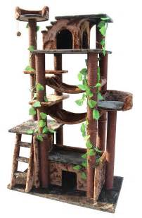 unique cat furniture kitty mansions amazon cat tree green brown