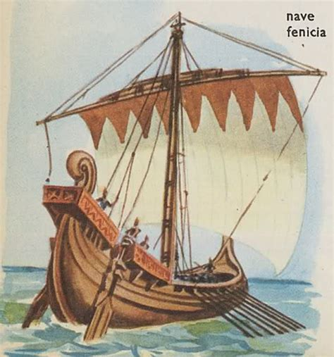 navi persiane i fenici