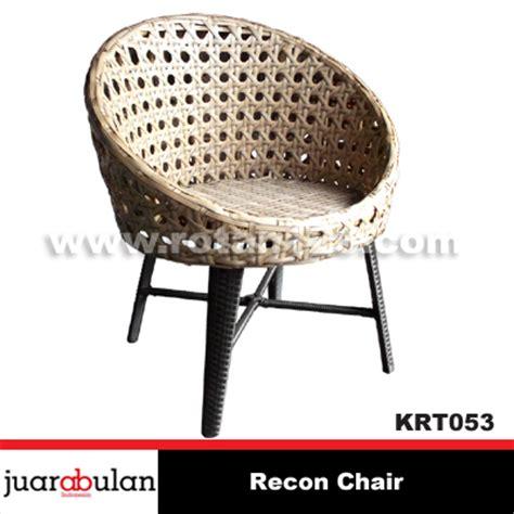 Gambar Dan Kursi Rotan harga jual recon chair kursi rotan sintetis krt053 model