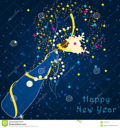 new year illustration beautiful new year s illustration stock vector image