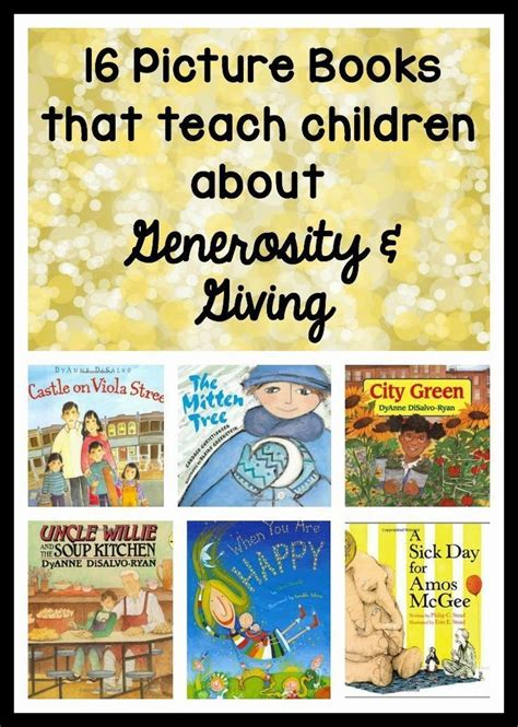 picture books to teach vocabulary 1000 ideas about giving back on a