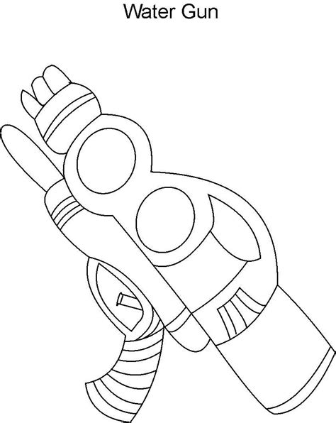 toy gun coloring page toy gun coloring pages