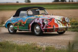 Janis Joplins Porsche Janis Joplin S Psychedelic Porsche Sold At Auction For 163 1
