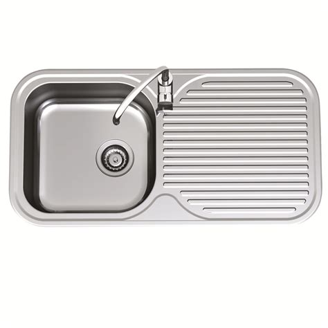 Clark Kitchen Sink Clark 930mm Advance Single End Bowl Sink Lh 1th Bunnings Warehouse