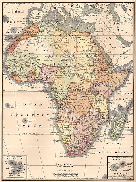 africa map vintage catnipstudiocollage free vintage clip map of