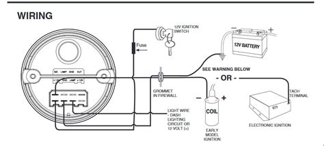 12v wiring diagram for tach autometer tach wiring question the bangshift forums